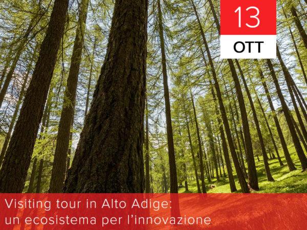 13 ottobre – Visiting tour in Alto Adige: un ecosistema per l'innovazione